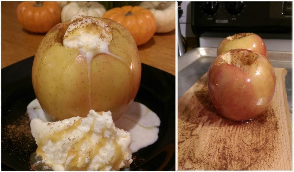 Cedar Oven-Planked Apples with Cinnamon and Brown Sugar Recipe