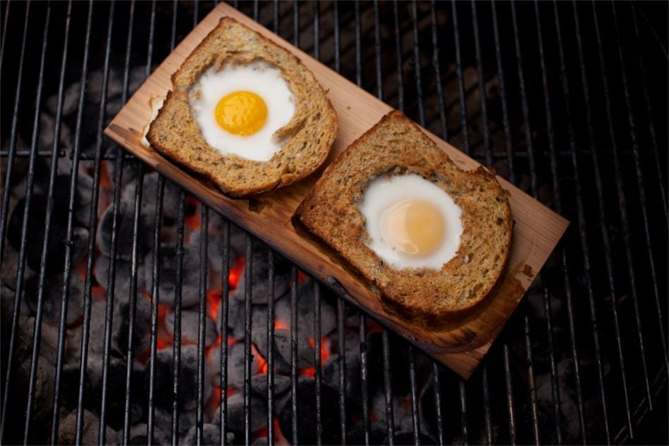 Cedar Planked Toad in the Hole Recipe
