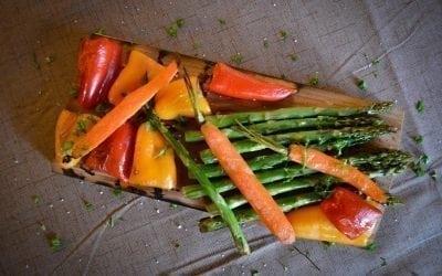 Grilled Vegetables on Alder Plank Recipe