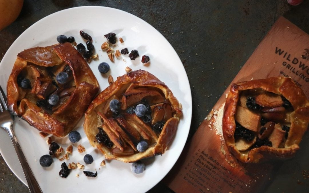 Cherry Planked Apple-Cranberry Galette Recipe